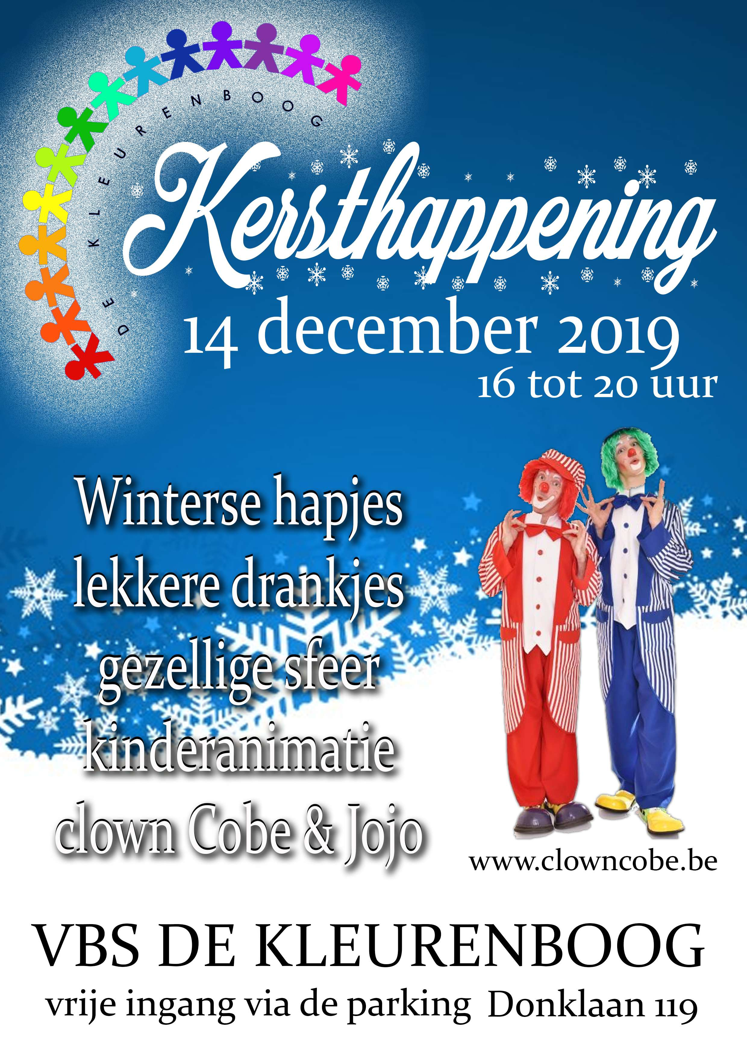 Affiche kersthappening 2019 D100